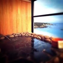 岩風呂露天風呂付客室