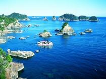 紀伊勝浦より「紀の松島巡り」で太地町まで遊覧できます♪