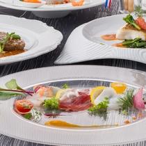 スタンダードコース【アザレ】オードブル・魚・肉料理イメージ