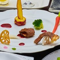 フレンチ肉料理一例