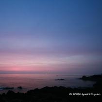 ヒレイカンバ夜明け前