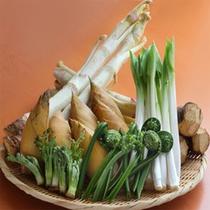 オープンキッチンコーナーの食材の一例