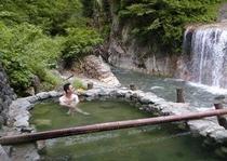白山スーパー林道の露天風呂
