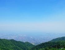 標高768mから見渡す大阪湾の大パノラマ!