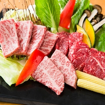 【ご夕食】グルメプラン バーベキュー(イメージ)