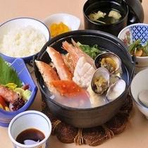 漁師鍋(夕食メニュー)