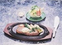 1品料理・ステーキの一例
