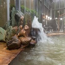 大浴場 自家源泉100%のお風呂