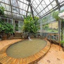 南国ムードの大浴場 1