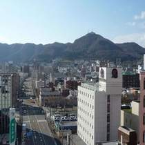 天気の良い日は景色もキレイ!函館山方面