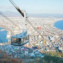 函館山展望台からの眺望