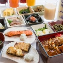 函館港を眺めながら、朝食をお楽しみいただけます。