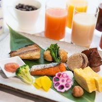 最上階のレストランで朝食をお楽しみください♪