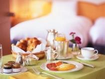ルームサービス朝食・イメージ