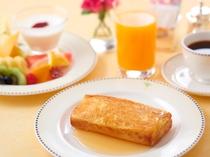 女性限定プラン ルームサービス フレンチトースト朝食 イメージ