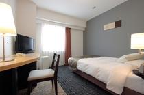 シングルルーム(13.8平米・140cm幅のゆったりサイズベッド)
