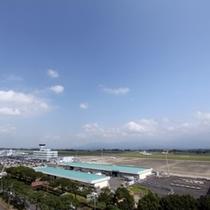 鹿児島空港/ホテル客室エアポートビュー★大型機の発着が見れるかも★