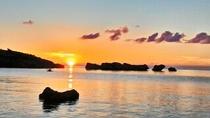 ほしずなの浜夕焼け