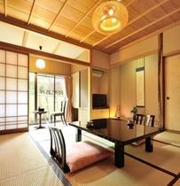 ■【和室8畳+檜の内風呂】1階