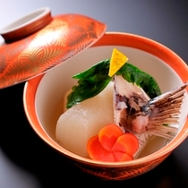 ■懐石料理(冬一例)蒸し物