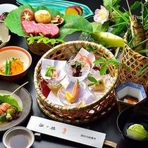 ■懐石料理(夏一例)