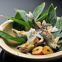 ■懐石料理(秋一例)魚料理