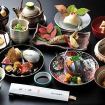 ■懐石料理(秋一例)
