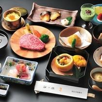 ■特別懐石料理(冬一例) 一部のお部屋限定でお召上がりいただけます
