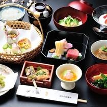 ■懐石料理(春一例)