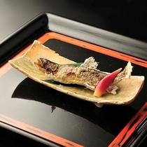 ■別注料理(一例)岩魚の塩焼き