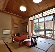 ■【和室10畳+次の間+内湯/3階】居室一例