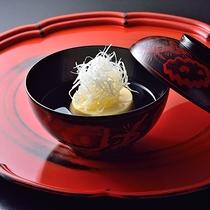 ■お料理 冬一例(椀物)