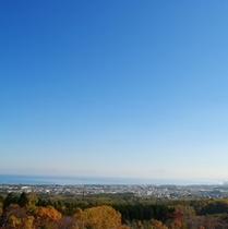 天都山からの眺め(知床半島も・・・)