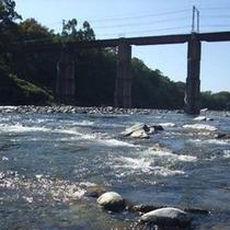 *SLが走る、秩父鉄道で一番長い親鼻鉄橋