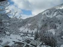 客室からの眺め(冬)