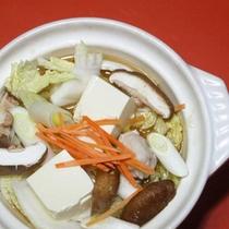 【季節の鍋料理】