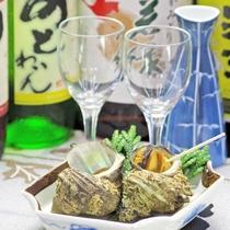 *平日限定☆地酒&サザエのつぼ焼き付きプラン