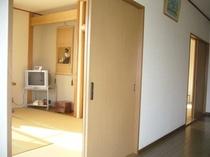 廊下から客室