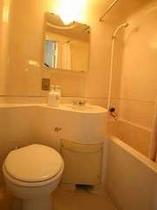 全室ユニットバス・トイレ完備