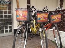 レンタル自転車/Rental bicycle