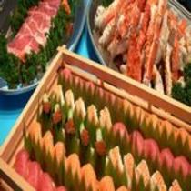 寿司・蟹・肉