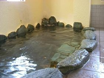浜坂温泉の岩風呂