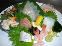 天然鮮魚刺身盛り合わせ