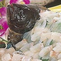 【平目のお造り】 ※ぷりぷり平目、そしてコリコリとした食感!