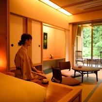 露天風呂付和洋室【2・3階】
