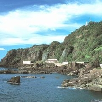 【越前海岸呼鳥門】 ※リアス式海岸が続く越前海岸は絶景ポイントが多数!