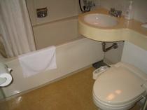 ツイン・ダブルのバスルーム
