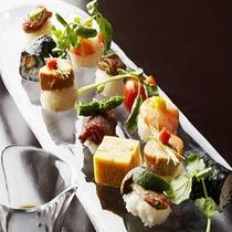 【夕食一例】*獲れたてをすぐそこで味わう、それがここでしか味わえない最高の贅沢です。