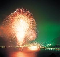 8月 『湯河原の花火』