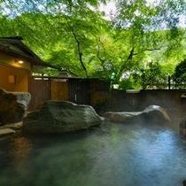 仙境野天風呂